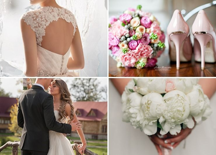 Wedding dresses Pink in Autumn