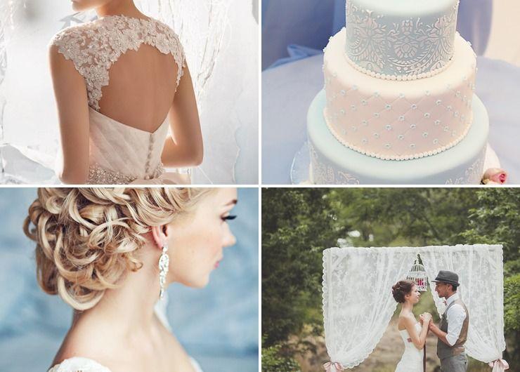 Wedding dresses Pink in Summer Vintage