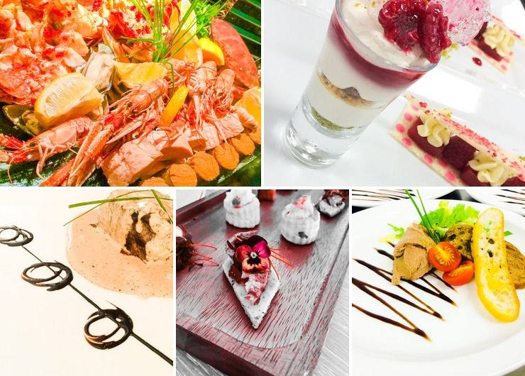 Dine in Style caterers starter