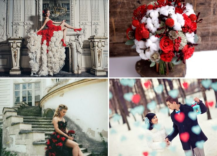 Bridal style Blue in Winter Vintage