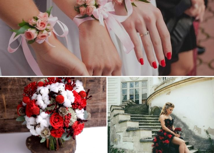 Themed winter real weddings