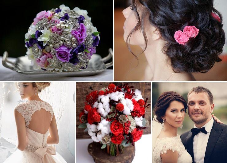 Mediterranean winter bridal style