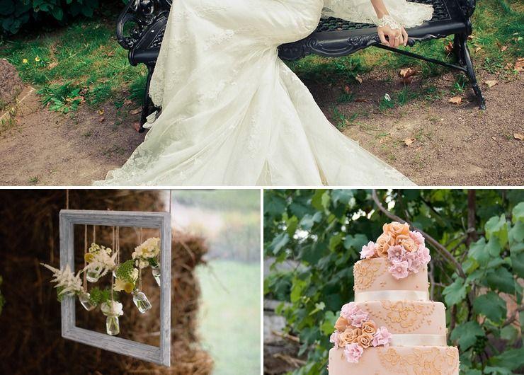 Bridal style Brown Rustic