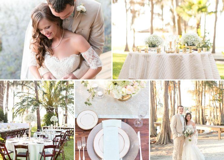Amy & Mike's Outdoor Backyard Wedding
