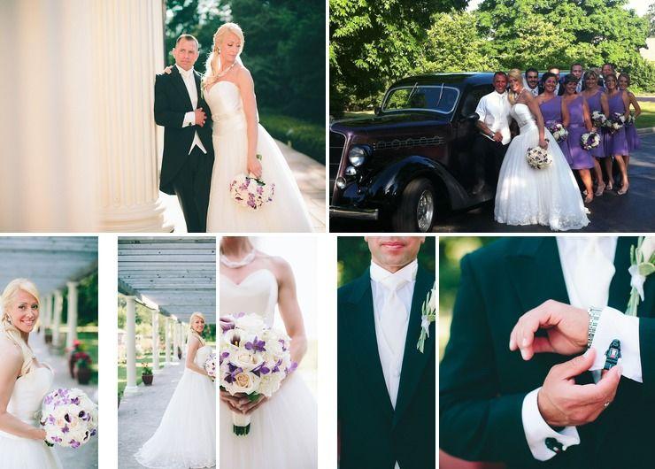 Purple, Lavender Summer Wedding