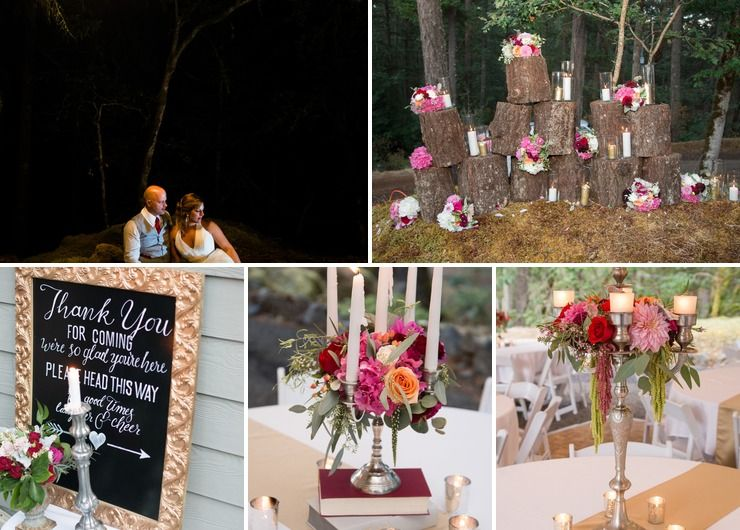 Elegant Enchanted Forest Wedding