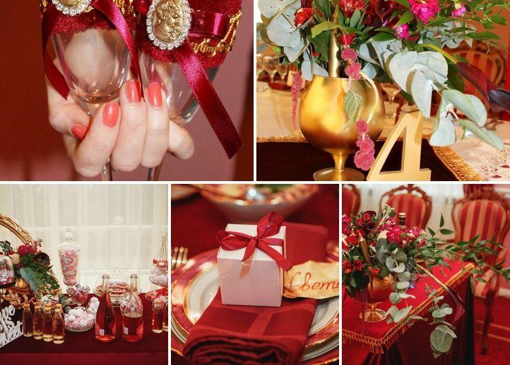 """Wedding """"Marsala Velvet"""""""