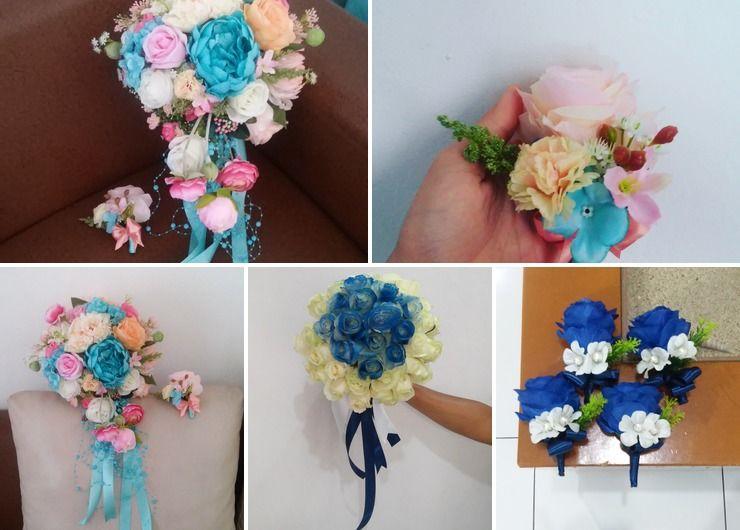lenny wedding bouquet