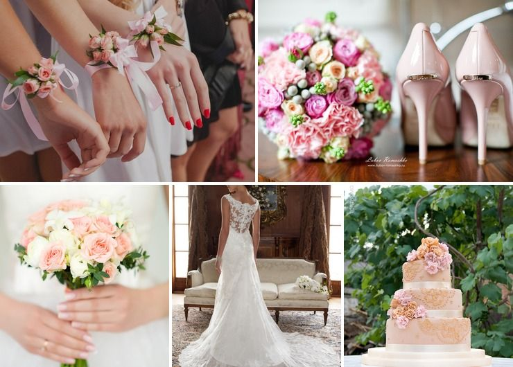 Wedding dresses Pink in Spring