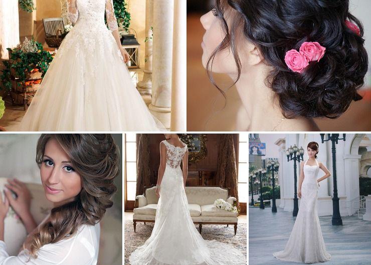 Mediterranean autumn bridal style