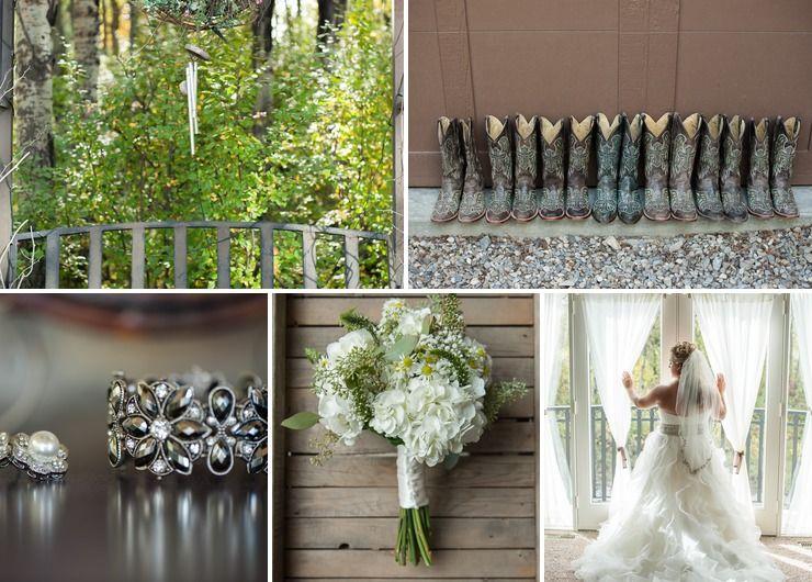 Katie & Myron's Rustic Country Wedding