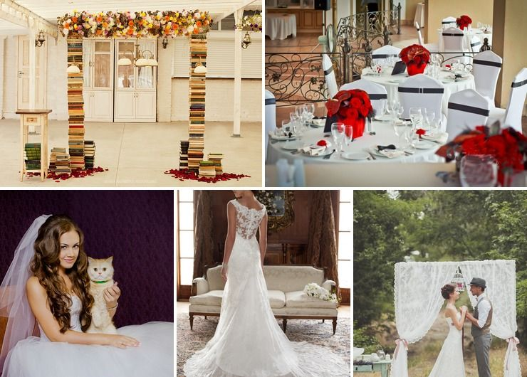 Wedding dresses Red in Summer Vintage
