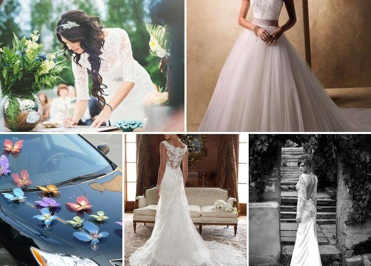 Wedding dresses Ivory in Autumn European