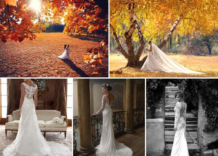 Wedding dresses in Summer Rustic