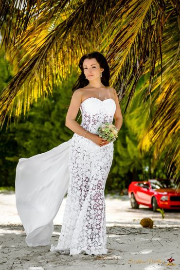 Beach lace wedding dresses