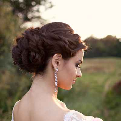 Summer bridal style