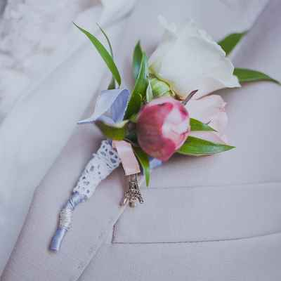French pink buttonhole
