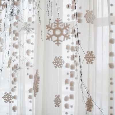 Winter white wedding reception decor
