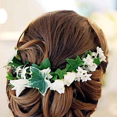 Mediterranean green wedding accessories