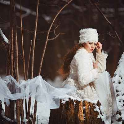 Winter real weddings