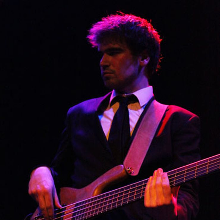 Robin on bass