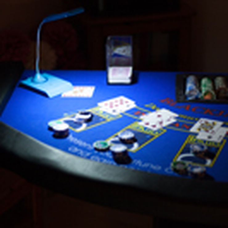 Example of 1 of the manyBlackjack Tables