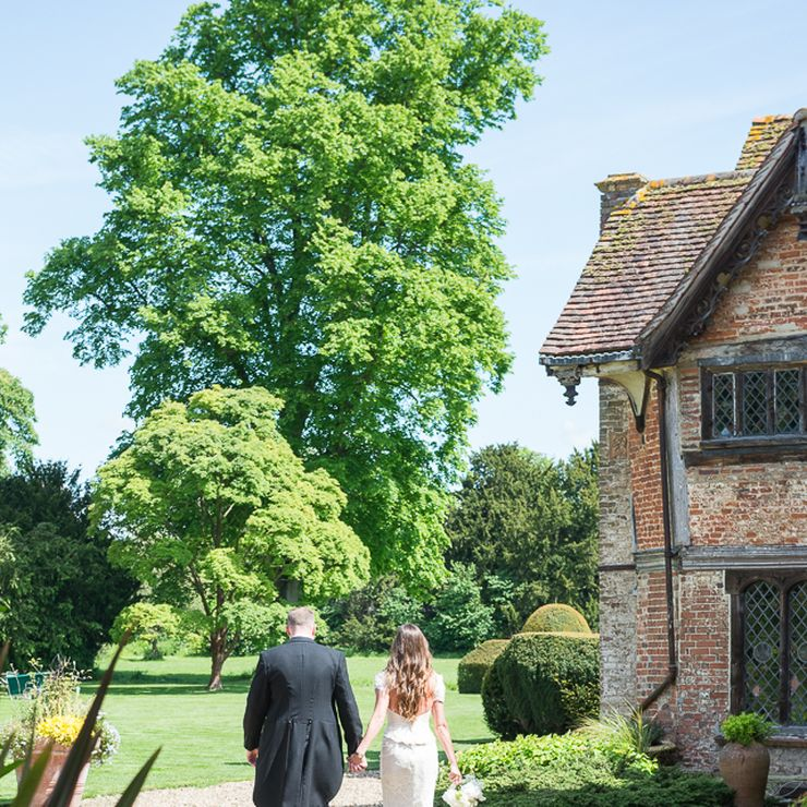 Spring Wedding at Dorney Court