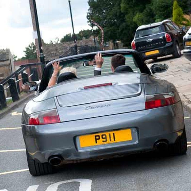 Porsche Groom's Car