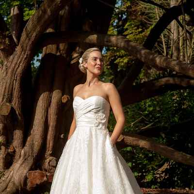Vintage short wedding dresses