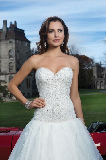 White ball gown wedding dresses