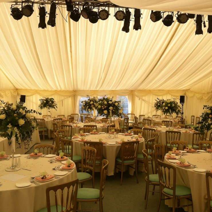 Manchester wedding marquee