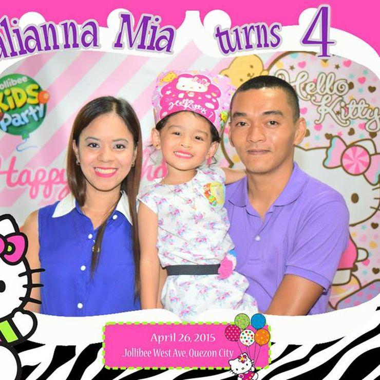 Mianna Mia turns 4