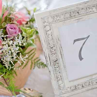 European wedding reception decor