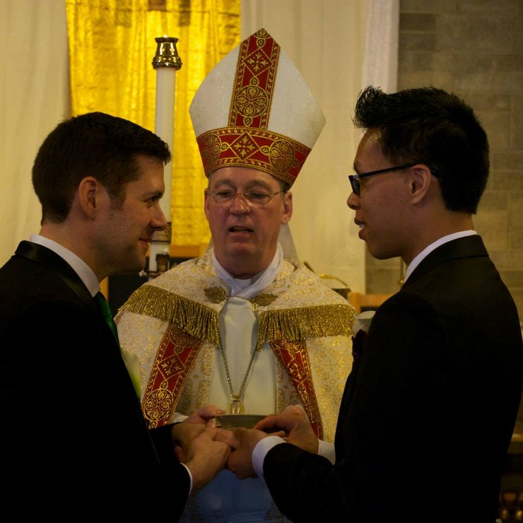 Weddings at St. Francis of Assisi American National Catholic parish