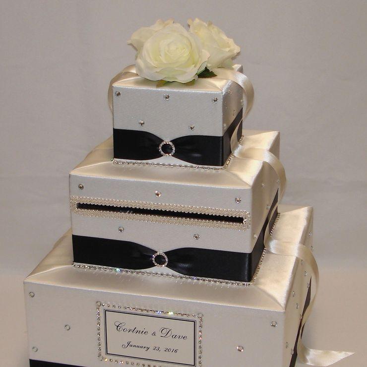 3 Tier Custom made Wedding Card Boxes