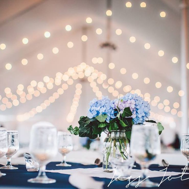 Coastal, tented wedding.  Photo by Jess Jolin Photography