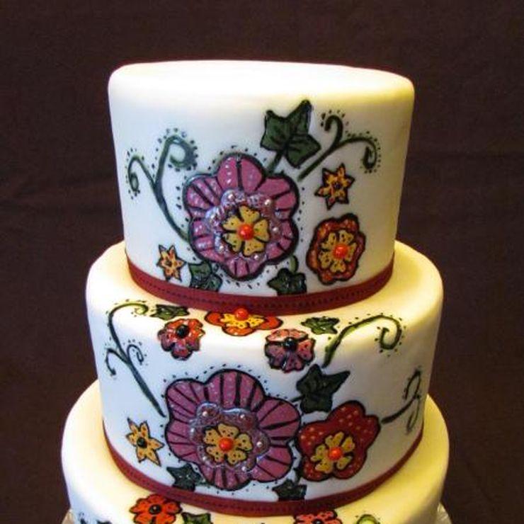 Ariana's Wedding Cake
