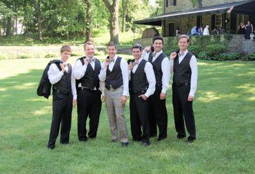 Black wedding guests