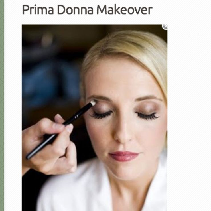 Primadonnamakeover hair and makeup