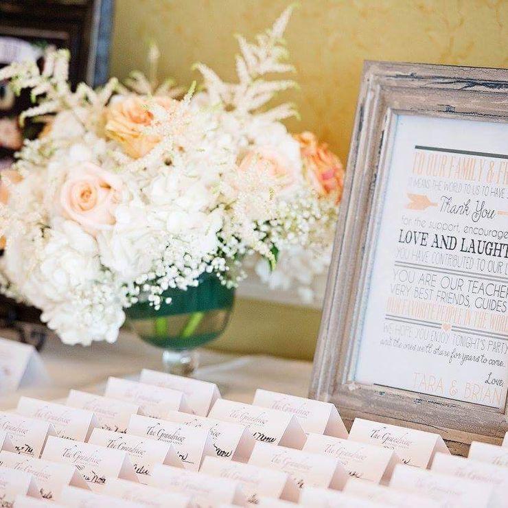 Tara's dream wedding