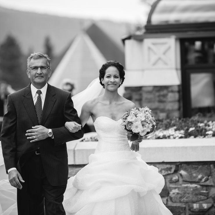 Alterations on designer wedding dresses.