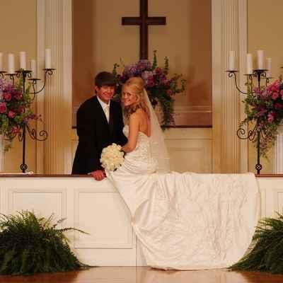 White lace wedding dresses