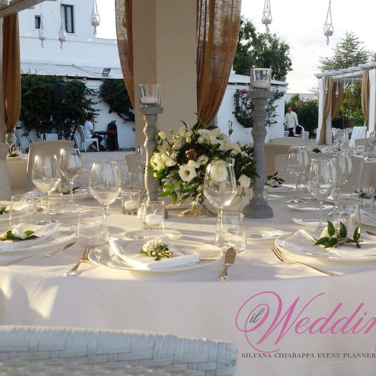 Simple and elegant wedding in Masseria