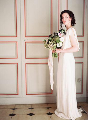 Overseas white long wedding dresses