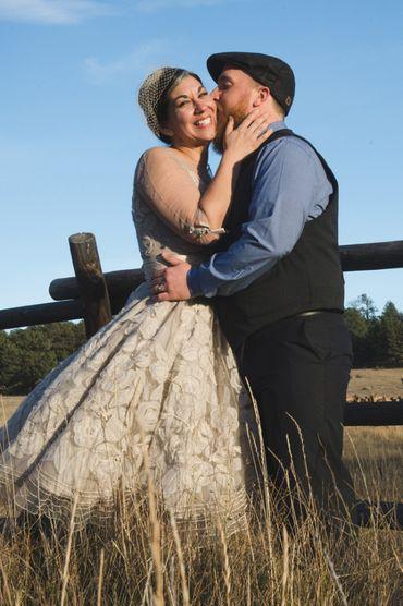 Outdoor ivory short wedding dresses