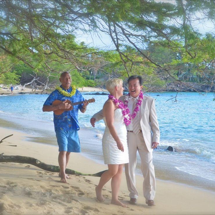 Kohala Coast wedding