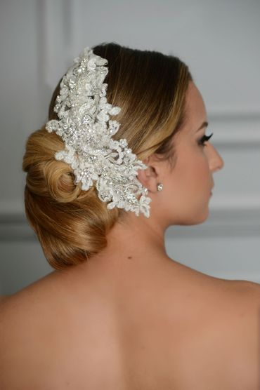 Wedding headpieces, veils, cover-ups & brooches