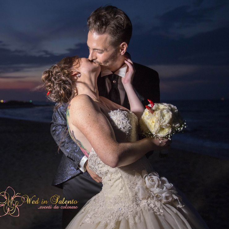 Beach wedding in Puglia