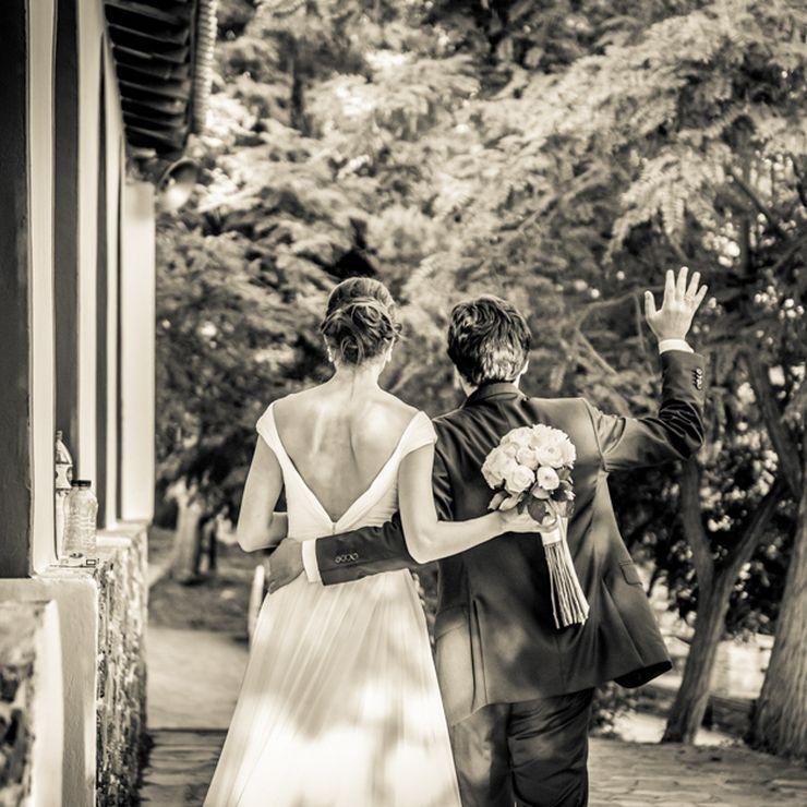 An elegant Greek Italian wedding
