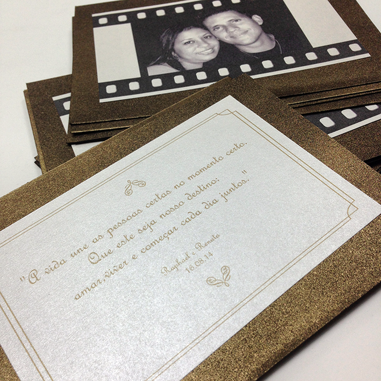 Renata and Raphael's Wedding Stationary
